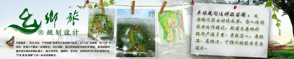 旅游规划设计